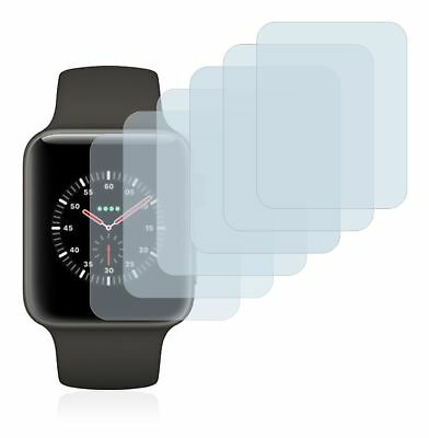 Apple Watch Edition Series 3 (38mm) 6 x Transparent ULTRA Clear Screen Protector