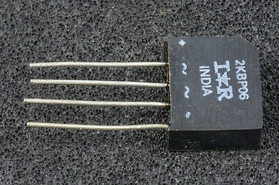 2KBP06 Bridge Rectifier 2A 600V