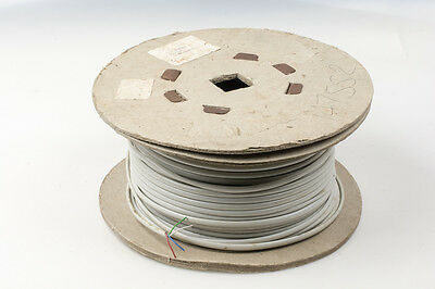 4 core 7 Strand security, alarm, general purpose cables - Grey