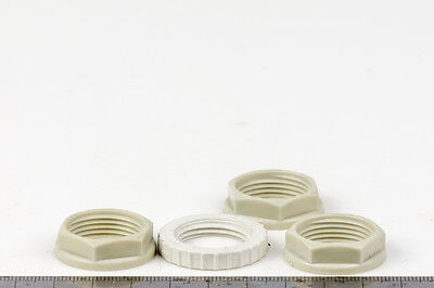 15 mm Nut for Conduit Adapter NYLON SUPER STRONG Nut for 15mm Conduit Fitting