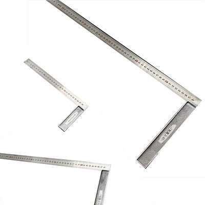 Steel Ruler 90 Degree Angle Metric Rulers Supplies Carpentry Measuring Tools