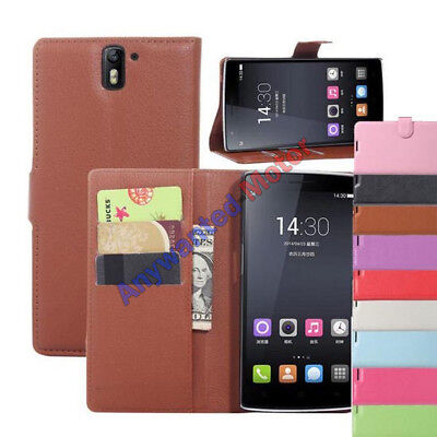 For OnePlus One Luxury Flip PU Leather Slim Wallet Magnetic Case Cover
