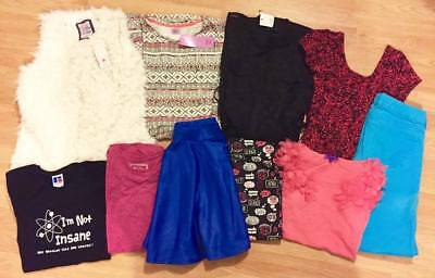 Job Lot 10 Items Girl Clothes 13-14 sz 6/8 HOLLISTER MISO EVIE M&S Dresses Gilet
