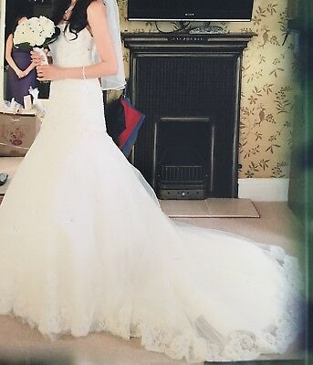 Wedding Dress Used Size 8-10