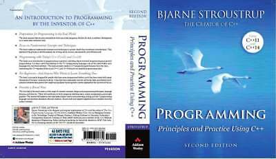 Programming Principles and Practice Using C++ - Intro into C+ / Read Details