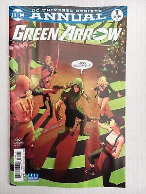 DC Comics: Green Arrow Annual #1 (2018) - BN - Bagged and Boarded