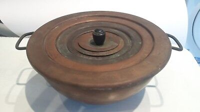 COPPER WATER BATH from Chemistry laboratory. 16cm across