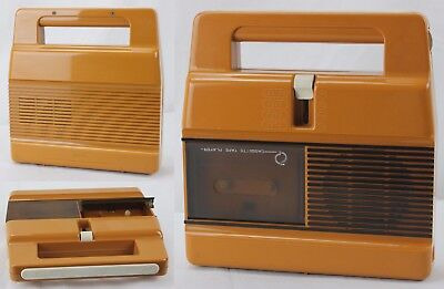 JUMBO Cassette Tape Player Made in Italy Vintage Originale anni 60/70 Collezione