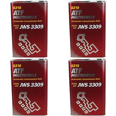 4x4 LITRE GENUINE Mannol mn8210-4me ATF MULTIVEHICLE Automatic Transmission