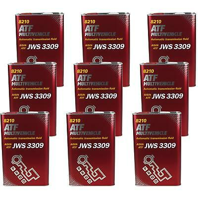 9x4 LITRE GENUINE Mannol mn8210-4me ATF MULTIVEHICLE Automatic Transmission