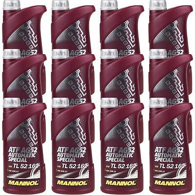 12x1 LITRE GENUINE Mannol Automatic Transmission Fluid ATF AG52 Special