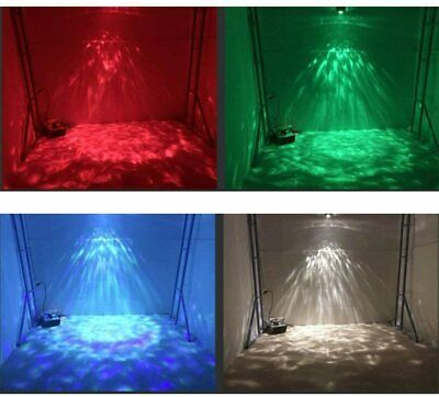 Wonsung stage LED Ripple Party lights 9W 7-color Soothing Ocean Wave Night light