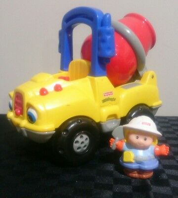 Fisher Price Little People Cement Truck