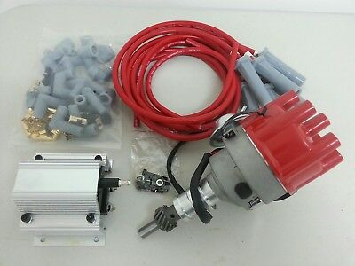 Holden 186 202 Red Motor Full Electronic Ignition Distributor kit Replaces MSD