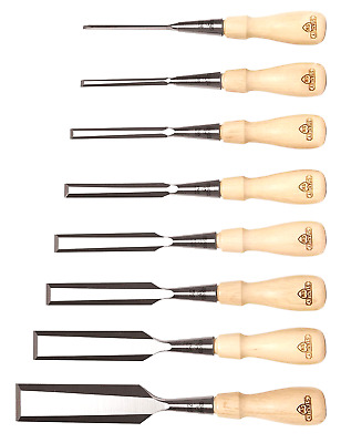Stanley Sweetheart Classic 750 Series Design Socket Chisel Set, Brown, 8 - Piece