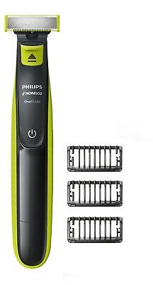 Philips Norelco One Blade Hybrid Electric Trimmer and Shaver Beard Mustache Tool