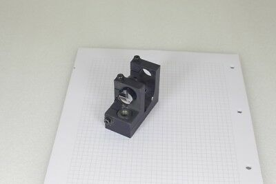 adjustable laser surface mirror mount on 2 axis stage assembly with cover beam
