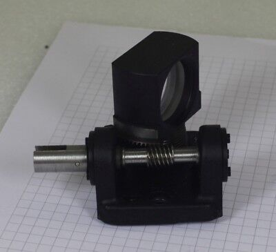 +- 45 deg precision rotary stage laser beam adjustment lens mount unit