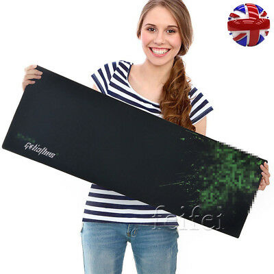 900x300mm Large Gaming Pad Game Mouse Mat For Razer Goliathus Game pat UK