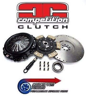 Competition Clutch White Bunny Stage 4 kit + Flywheel - S14a 200SX Kouki SR20DET