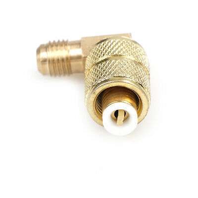 Brass Auto AC Refrigeration Adapter Connector Adaptor R410AWC ZY