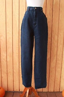 Deadstock Vintage 90s NOS Bill Blass Soft Blue Mom Jeans High waisted Size 32