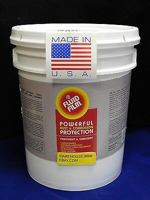 5 GALLON CONTAINER OF FLUID FILM  / Wool Wax  Rust proof undercoating