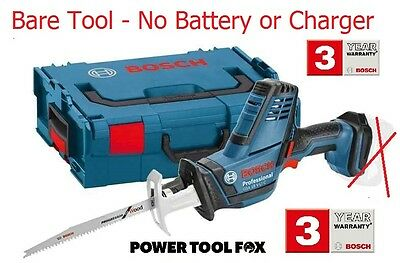 2 ONLY! BARE TOOL- Bosch GSA 18V-LiC Cordless SABRE SAW 06016A5001 3165140830256