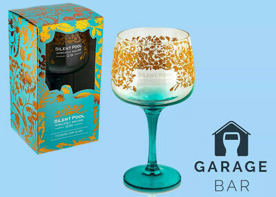 Single Silent Pool GIFT BOXED Gin Balloon Glass Brand New Free P&P 100% Genuine