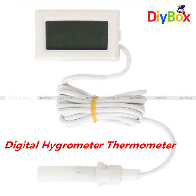 Mini Digital LCD Humidity Temperature Meter Thermometer Hygrometer Indoor 1.5M