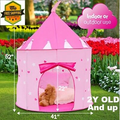 Glow Tent Toys For Girls Boys Kids 3 4 5 6 7 8 9 Year Old Age Girls Fun Play Toy