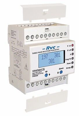 Revalco 1RAEM4C485IMP0.3 Three-Phase Multifunction Meter