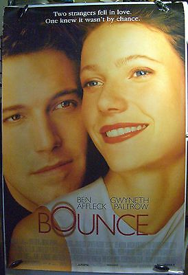 "Bounce - 27""x40"" 2 Sided ORIGINAL Movie Poster -Ben Afleck, Gwyneth Paltrow"