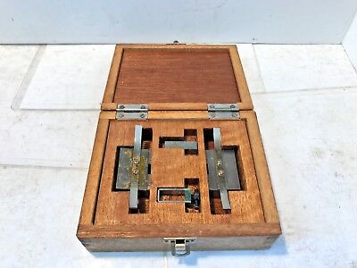 Mitutoyo Precision Workholding Inspection Blocks, Machinist Tool, Free Shipping