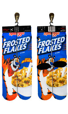 Odd Sox Frosted Flakes Unisex Socks, Size 6-13