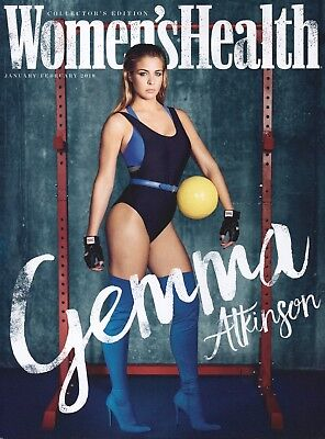 Women's Health Magazine (UK) January/February 2018  Collectors Edition  (SEALED)