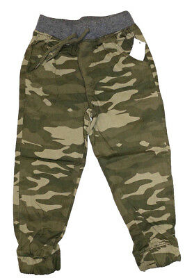 NWT Toddler Boy's Toughskins. Twill Jogger Pant. Camo. Cont U.S. only