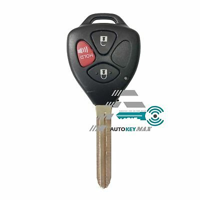 Replacement for Toyota Matrix 2009 2010 Remote Key Case Shell