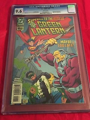 GREEN LANTERN V3 53 CGC Superman To Rescue Mongol Banks Cover
