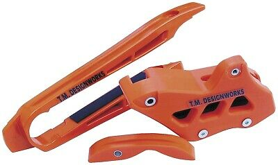 TM Design Works Factory Edition 2 Stage Front Super Slider Orange KTM-002-OR