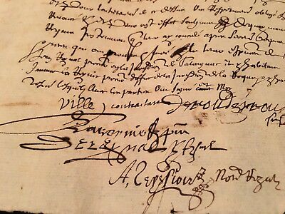 Very Old Paper 1630