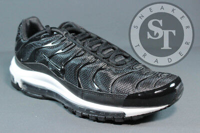 3f6ed769eae3 Nike Air Max 97   Plus Ah8144-001 Tune Up Black Anthracite White Ds Size