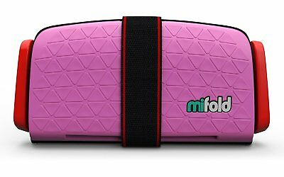 mifold Grab-n-Go,  Toddler, Child Booster Seat, Pink