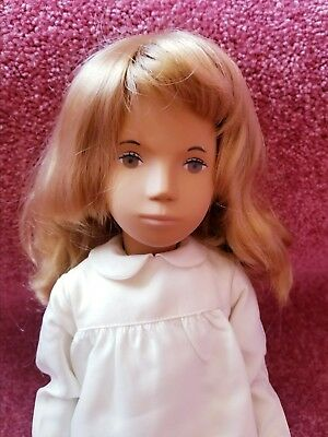 Vtg 1981-82 Sasha Doll Honey Blonde 101 Silk Dress Trendon With Tag