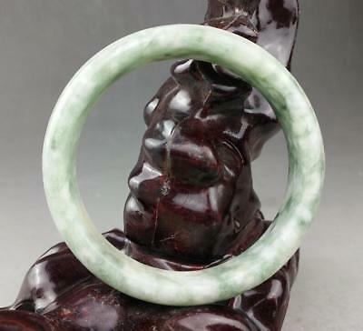 Chinese old jade hand carved the  bracelet / 9