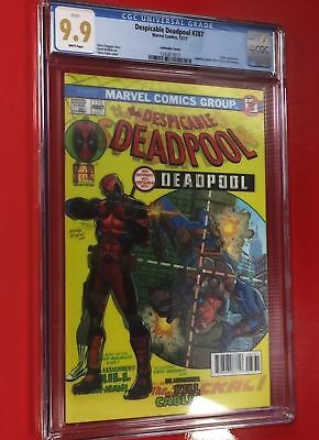 Despicable Deadpool #287 Lenticular Asm #129 Cover Homage Cgc 9.9 Not 10.0