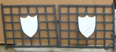 Pair of Antique Mission Style WINDOW GATES Guards - Architectural Salvage