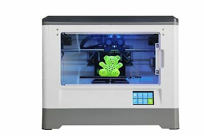 Flashforge Dreamer 3D Printer Dual Extruder Support ABS PLA and WIFI USB SD Card