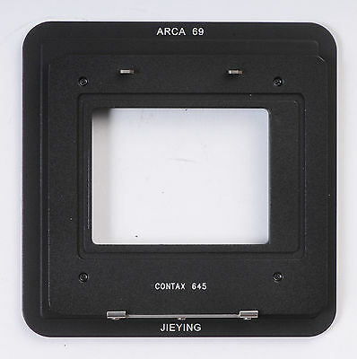 Contax 645 Back For Arca 69 Adapter Phase One Sinar Leaf Hasselblad Camera