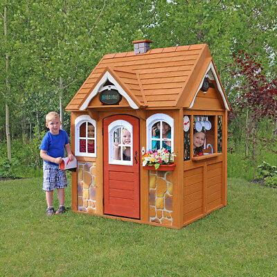 New Kidkraft Stoneycreek Cedar Playhouse (00401)